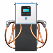 40KW DC fast charger with a small size and scalable